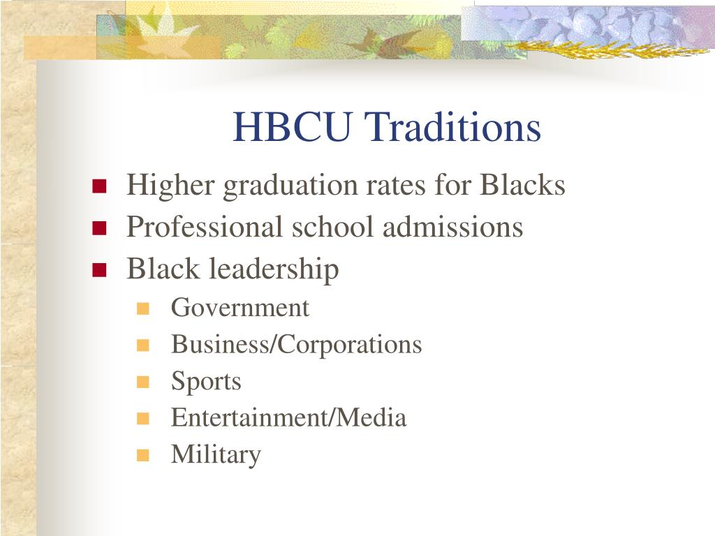HBCU Traditions