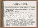 appendix cont46