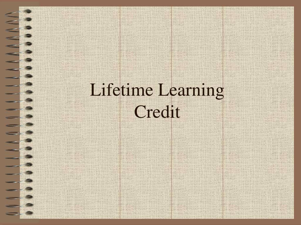 Lifetime Learning