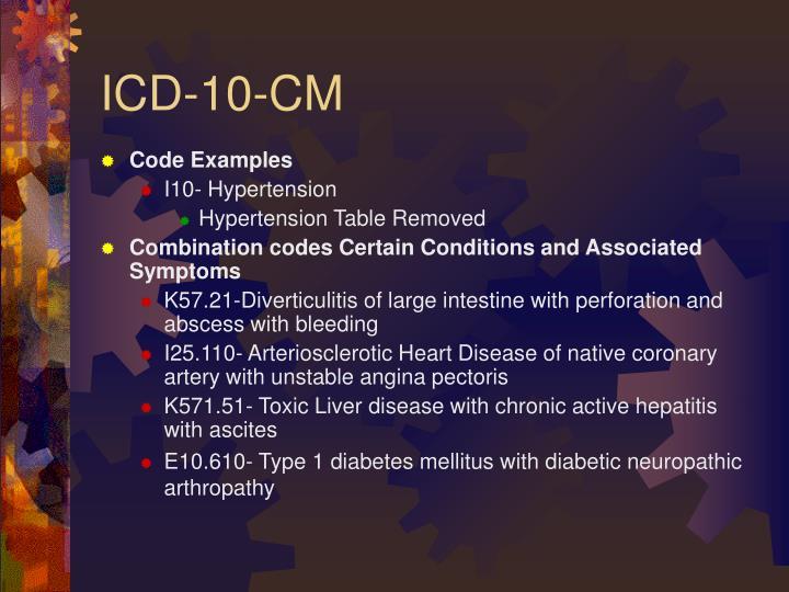 Código icd 10 para diabetes mellitus