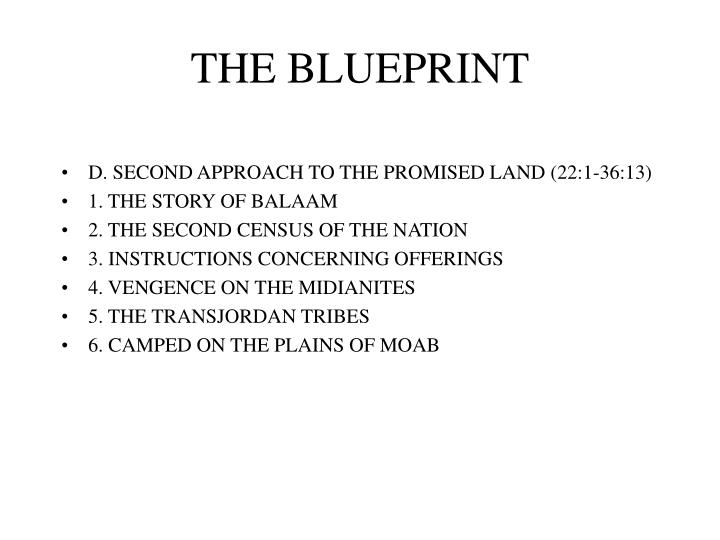 The blueprint3