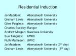 residential induction21