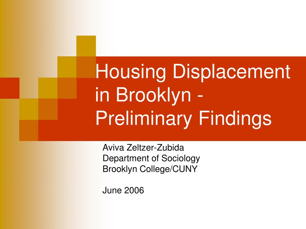 Housing Displacement
