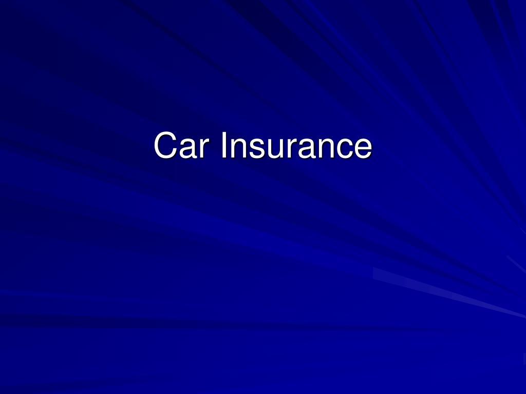car insurance l.