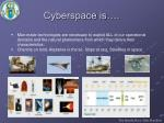 cyberspace is9