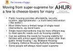 moving from super supreme for a few to cheese lovers for many
