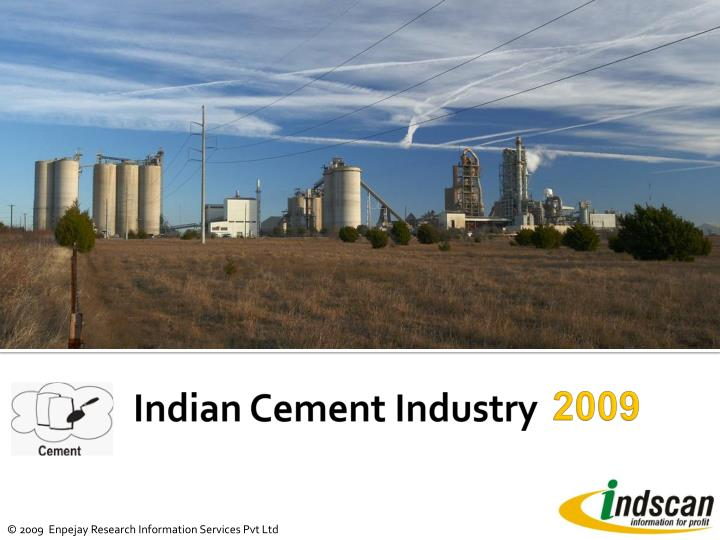 indian cement industry n.