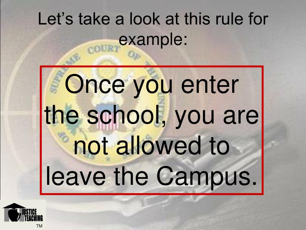 Let's take a look at this rule for example: