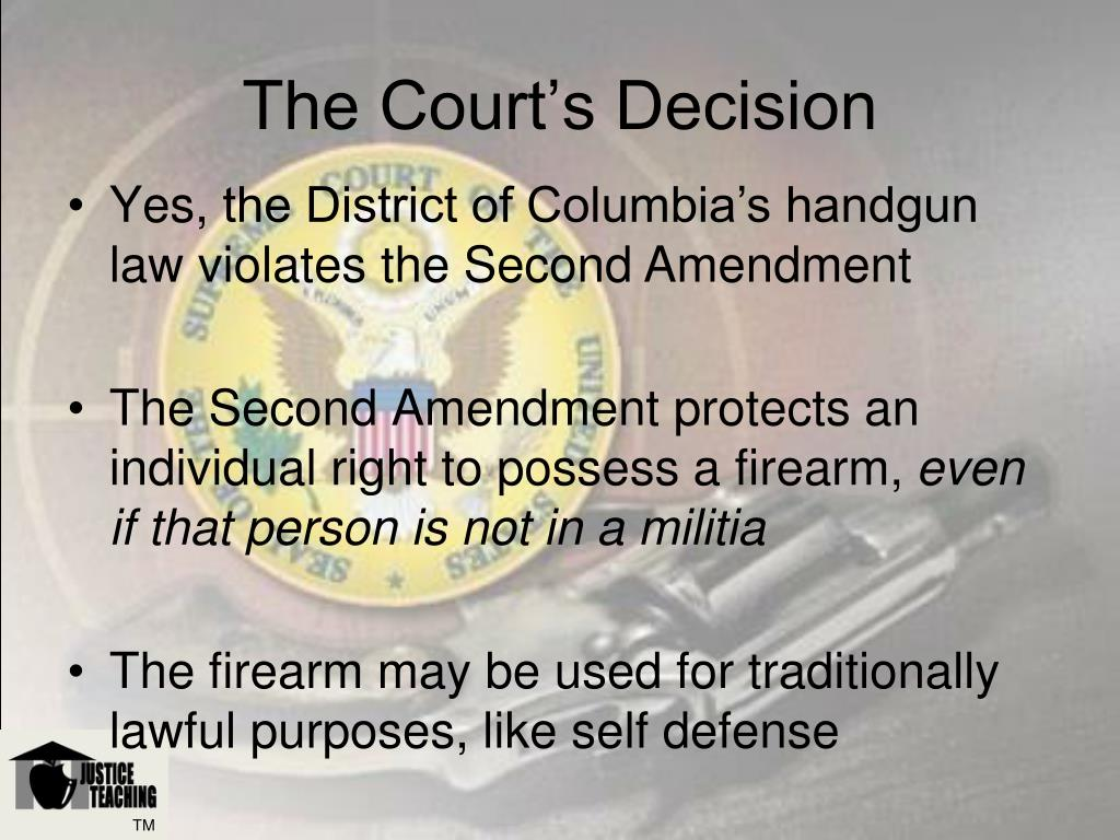 The Court's Decision
