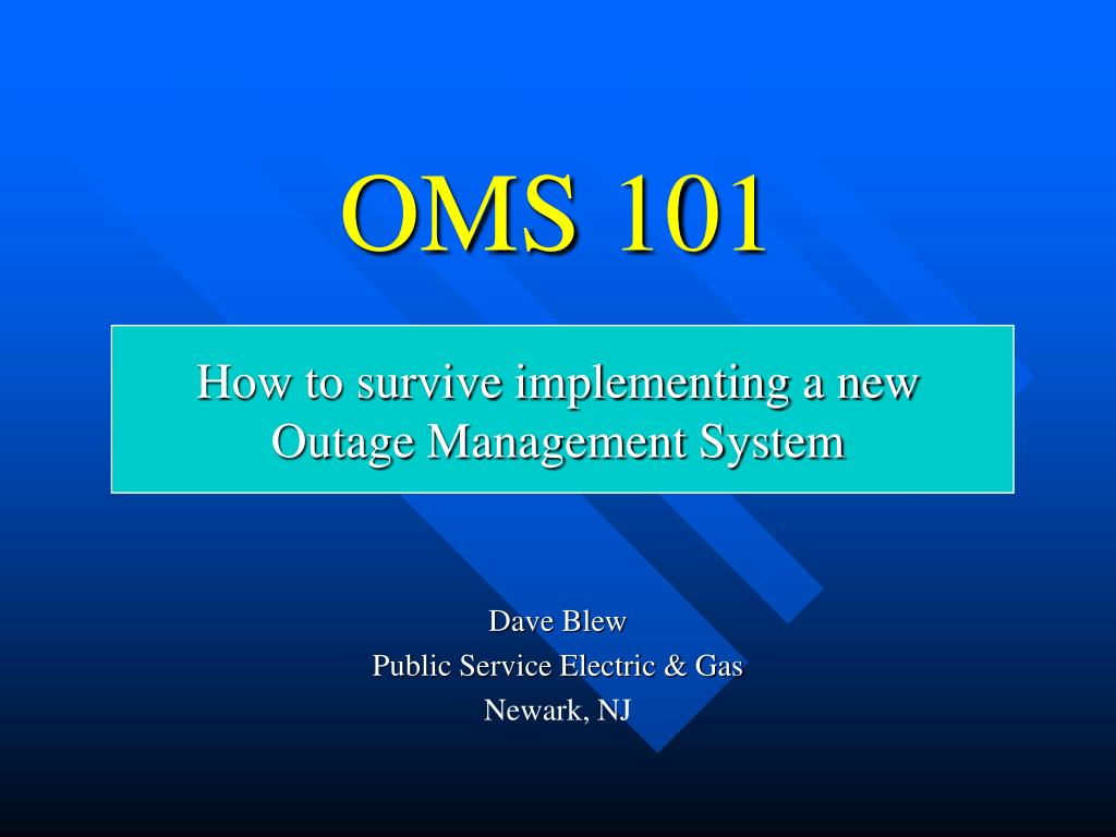 OMS 101