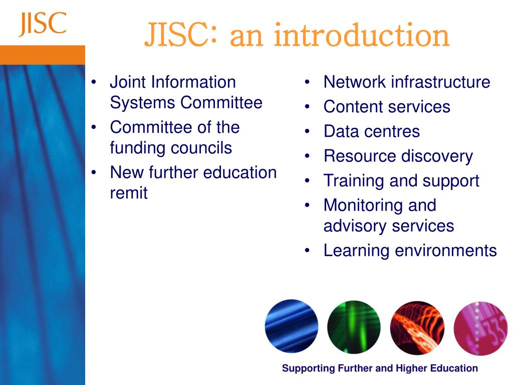 Joint Information Systems Committee