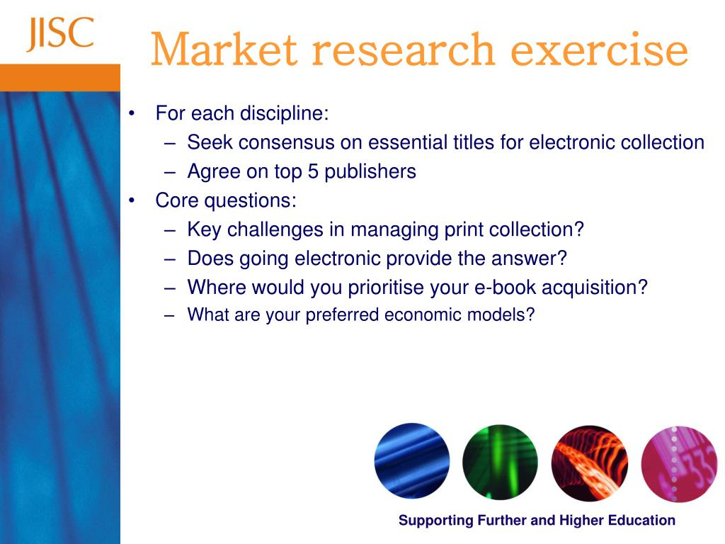 Market research exercise