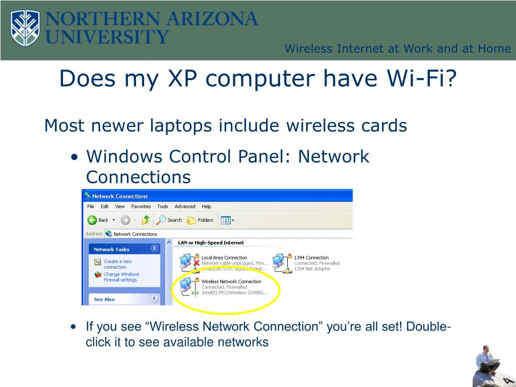 Does my XP computer have Wi-Fi?