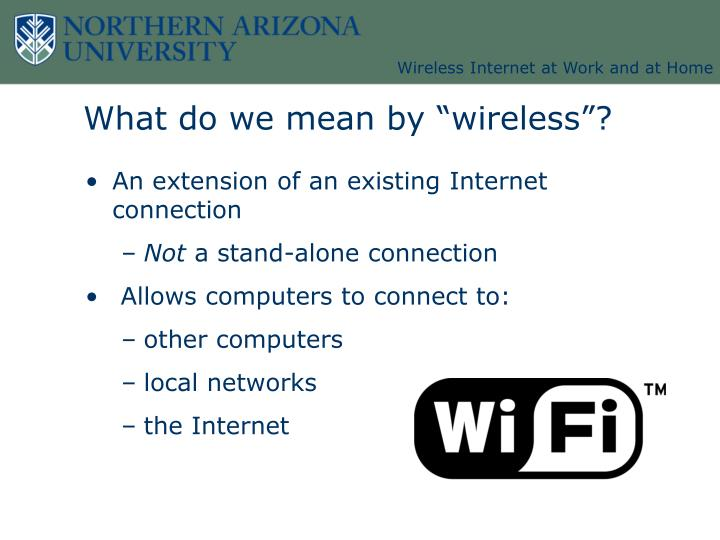 What do we mean by wireless3