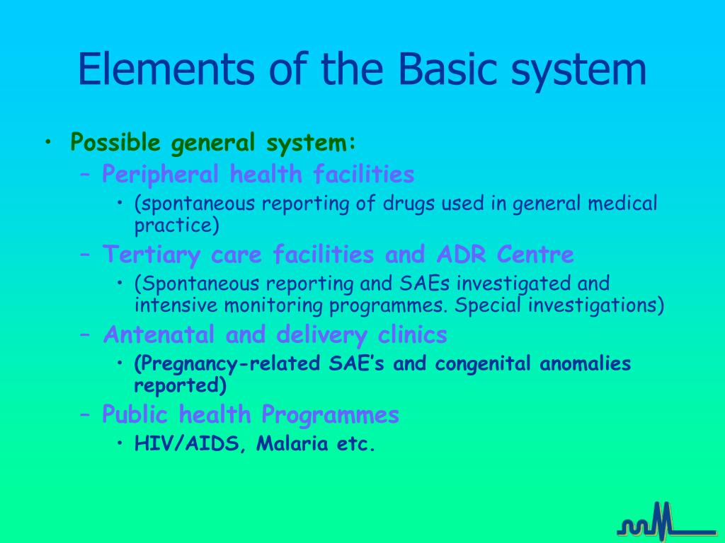 Elements of the Basic system