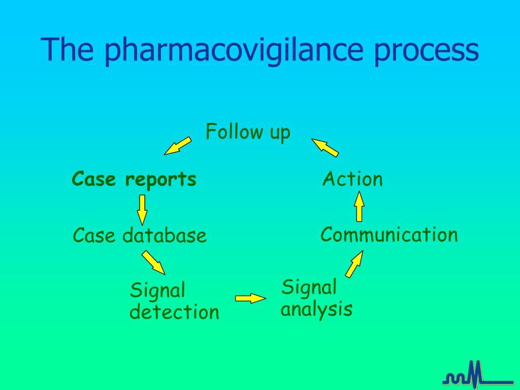 The pharmacovigilance process