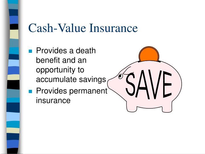 Cash-Value Insurance
