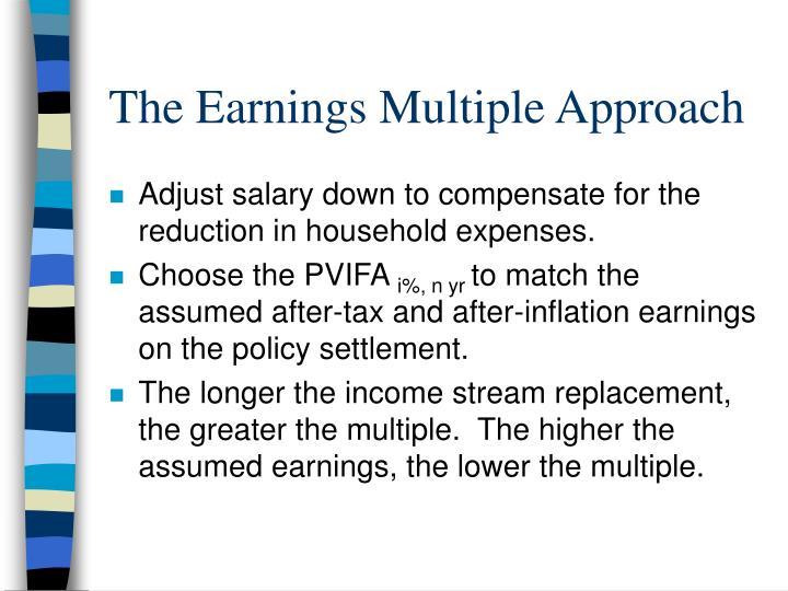 The Earnings Multiple Approach