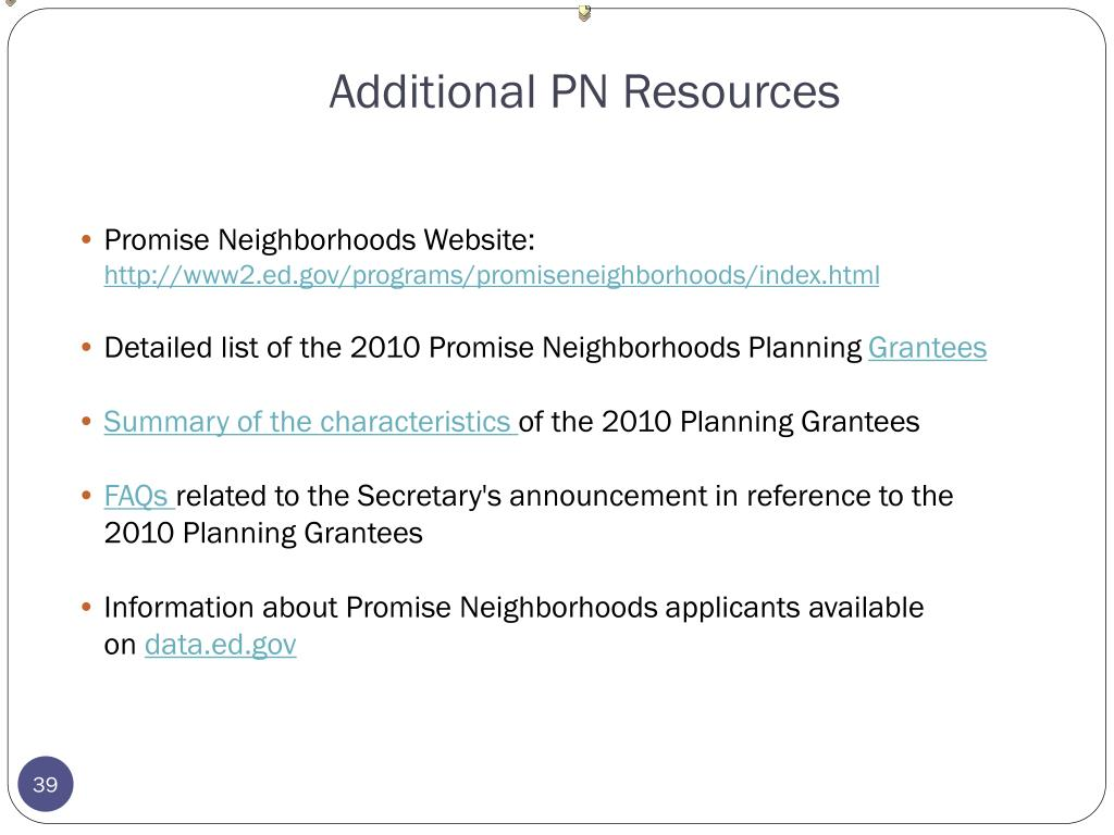 Additional PN Resources