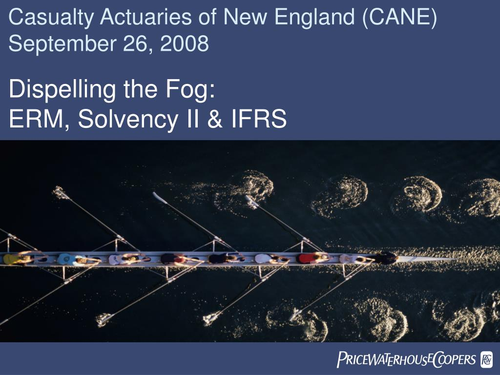 Casualty Actuaries of New England (CANE) September 26, 2008