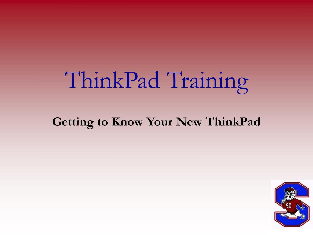 thinkpad training l.