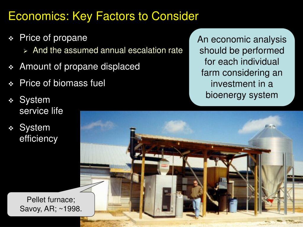 Economics: Key Factors to Consider
