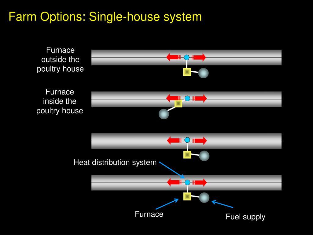 Farm Options: Single-house system