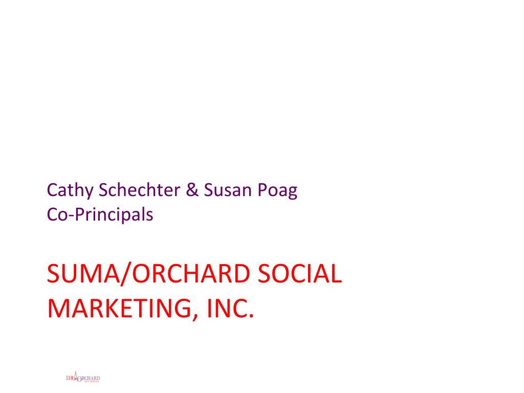 Cathy Schechter & Susan Poag