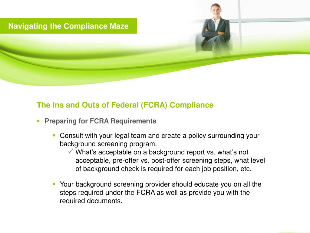 Navigating the Compliance Maze
