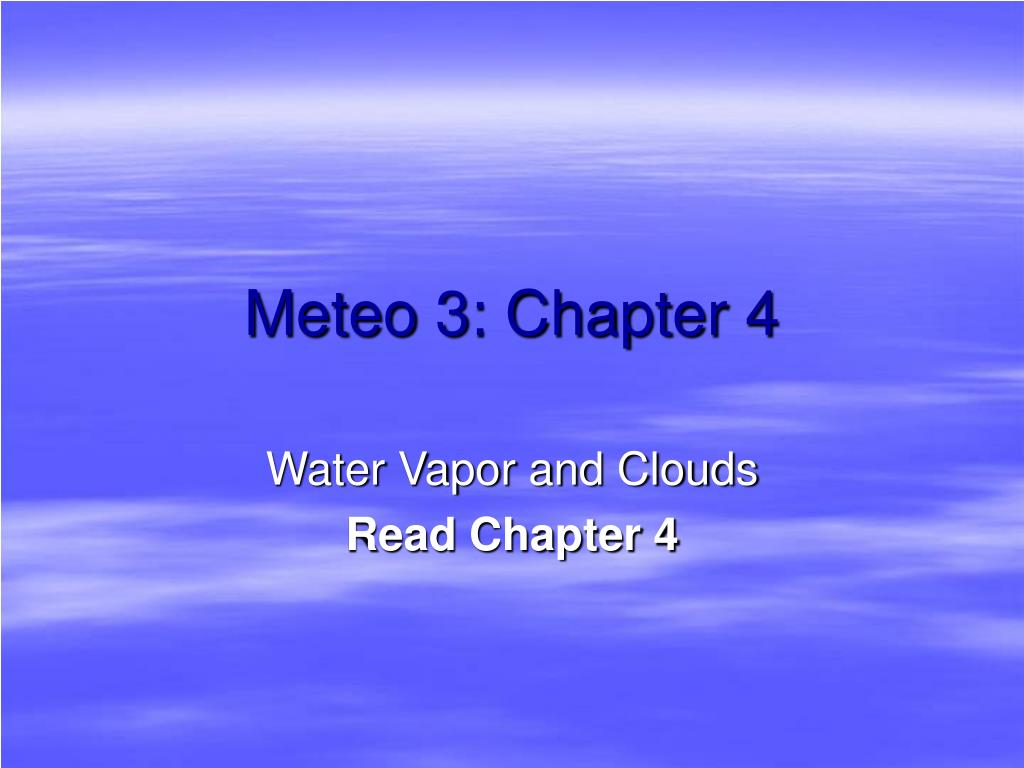 meteo 3 chapter 4 l.