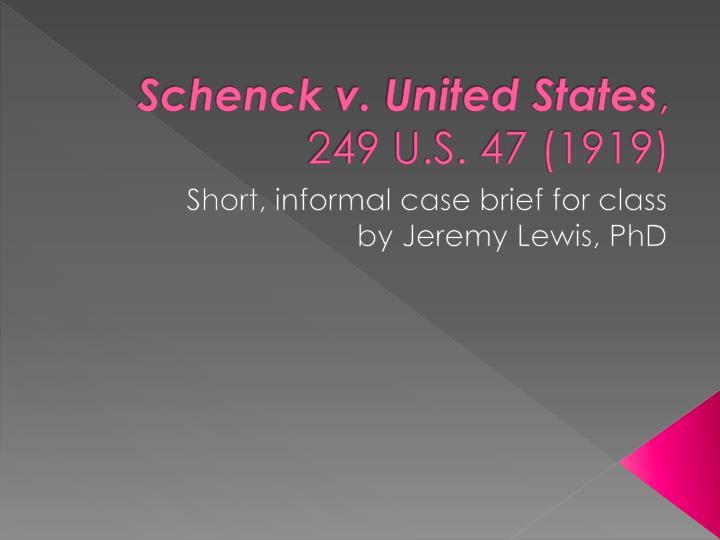 funk v united states case brief
