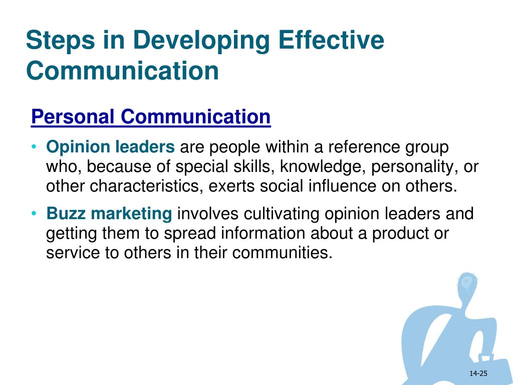 Steps in Developing Effective Communication