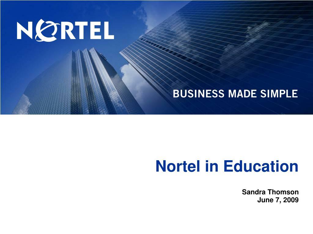 nortel in education l.