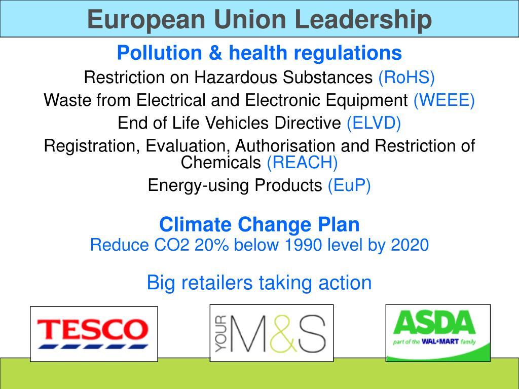 European Union Leadership