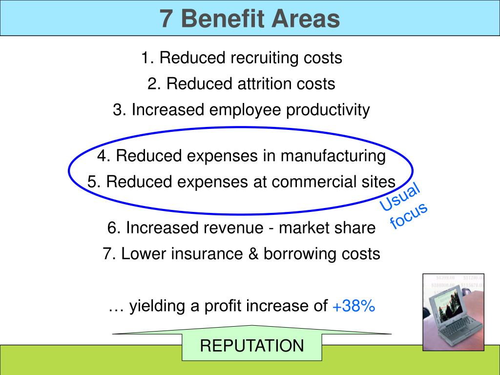 7 Benefit Areas