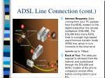 adsl line connection cont