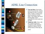 adsl line connection