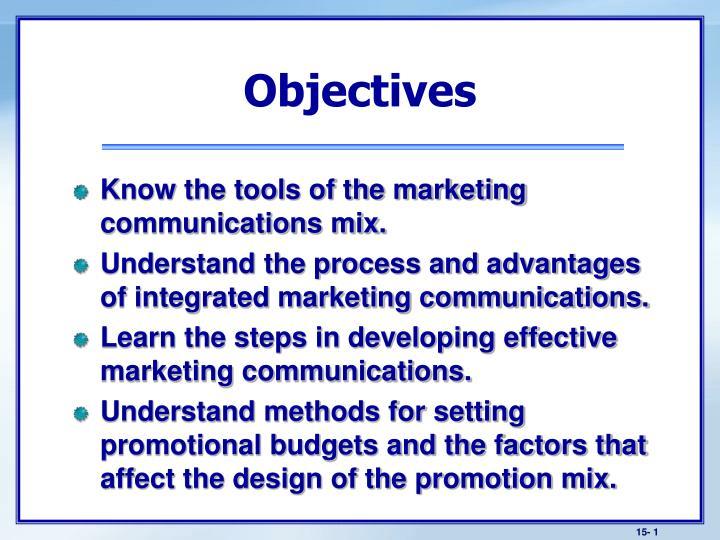 advantages of integrated marketing communication