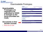 downloadable prototypes