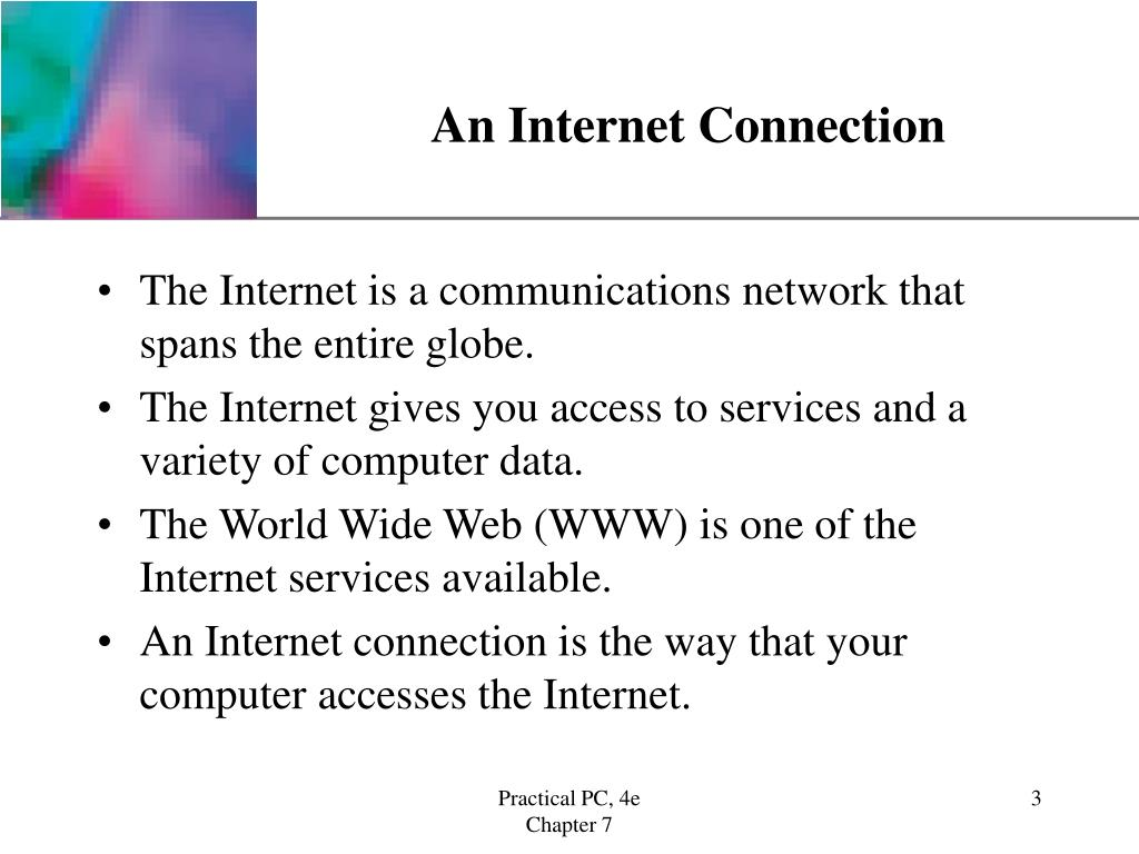 An Internet Connection