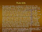 rule 62b65