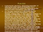rule 62d