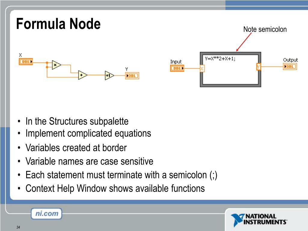 Formula Node