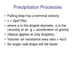 precipitation processes10