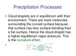 precipitation processes5