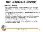 nlr l3 services summary22