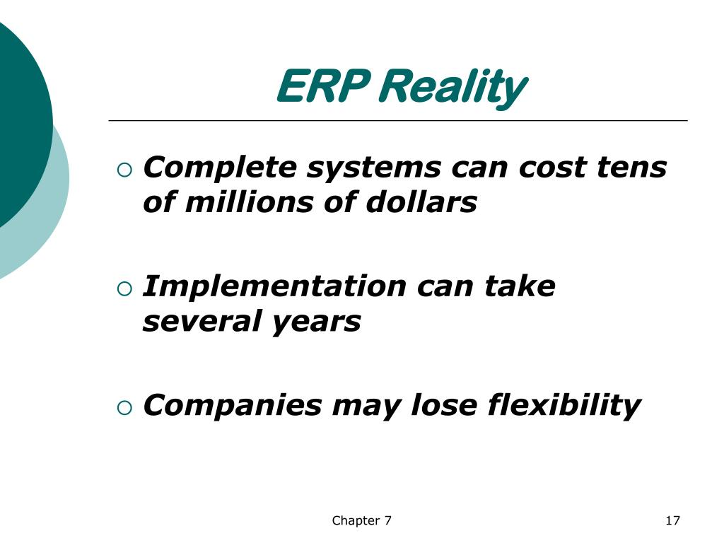 ERP Reality
