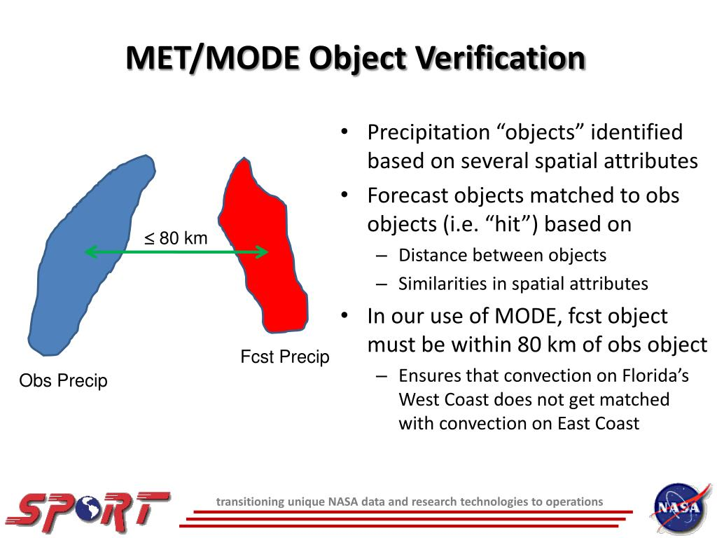 MET/MODE Object Verification