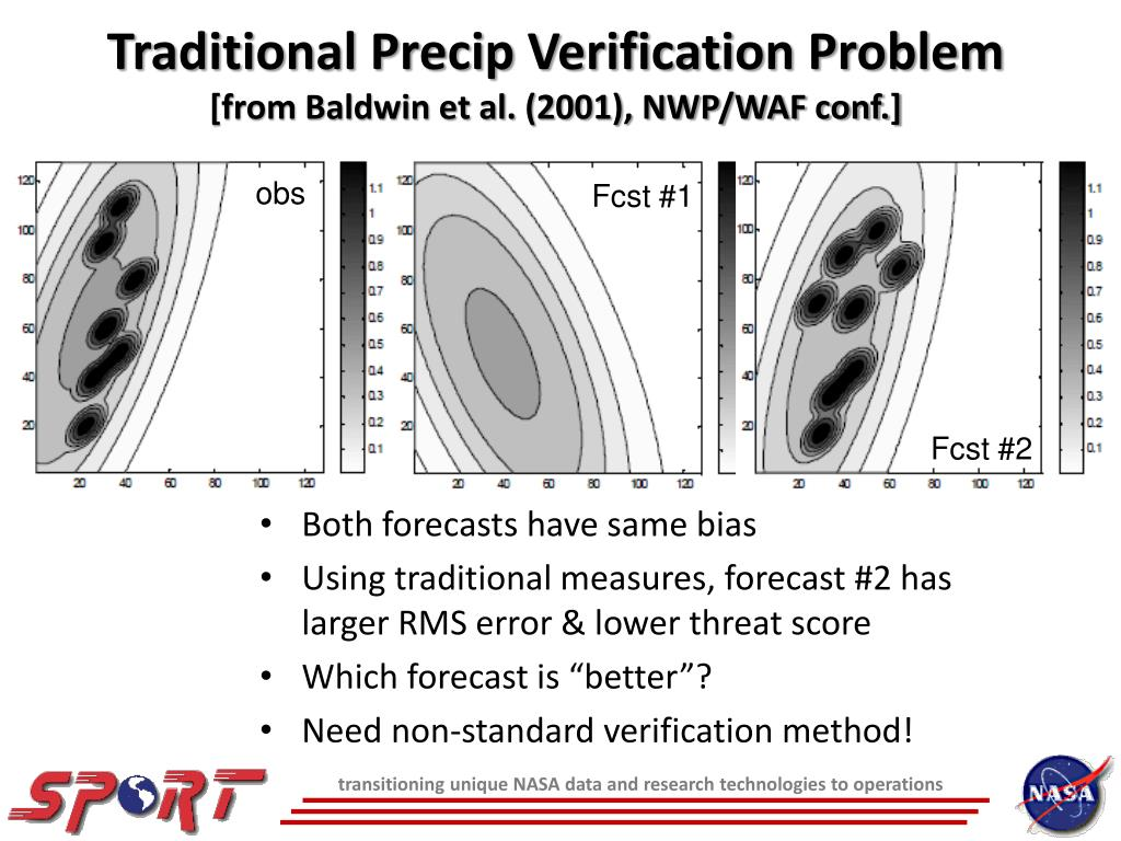 Traditional Precip Verification Problem