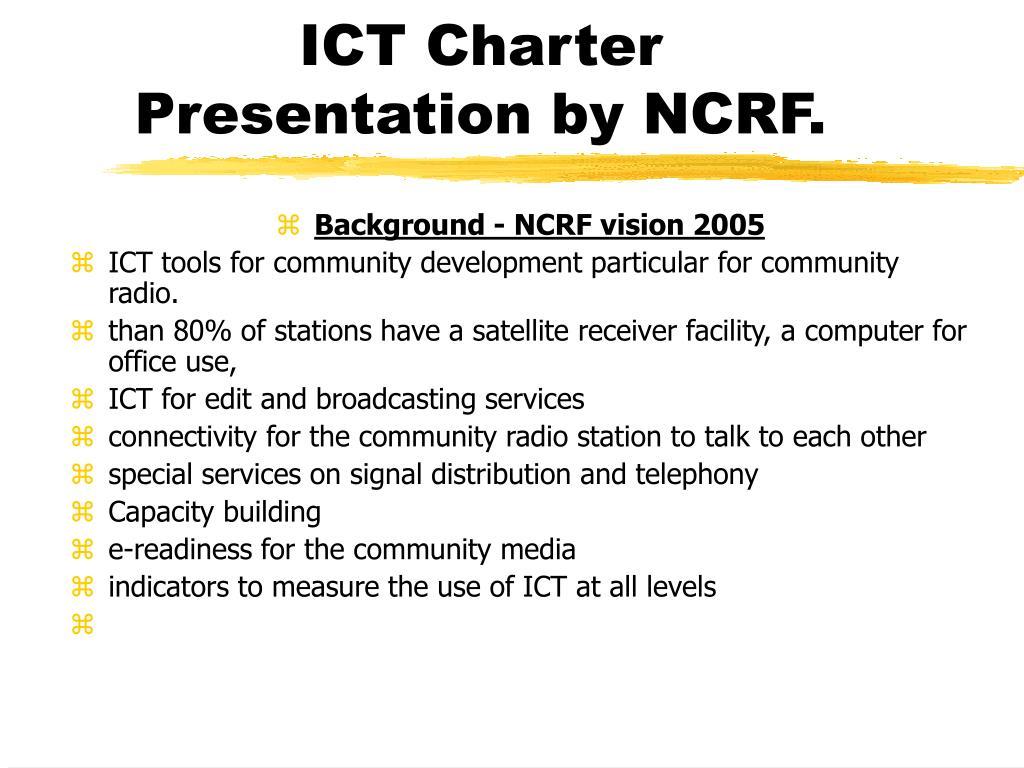 ICT Charter